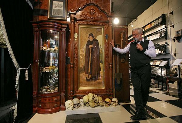Museo de la cultura funeraria en Rusia (7)