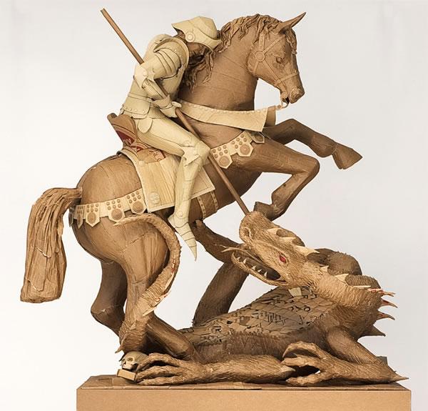 esculturas de carton (7)
