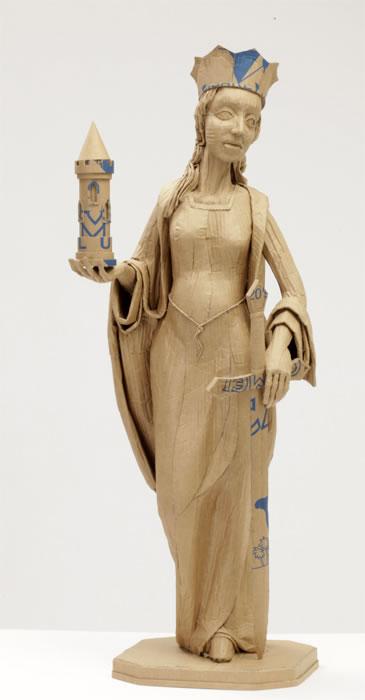 esculturas de carton (1)