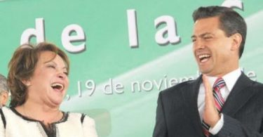 Elba Esther Gordillo SNTE y Peña Nieto