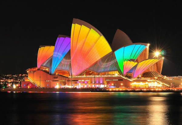 Sidney Festival Luces