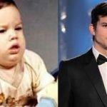 Actores y cantantes famosos de bebés