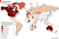 mapa consumo marihuana onu