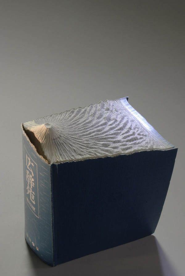 esculturas esculpidas en libros (15)