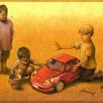 Arte satírico por Pawel Kuczynski
