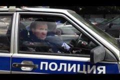 Obedientes policías rusos