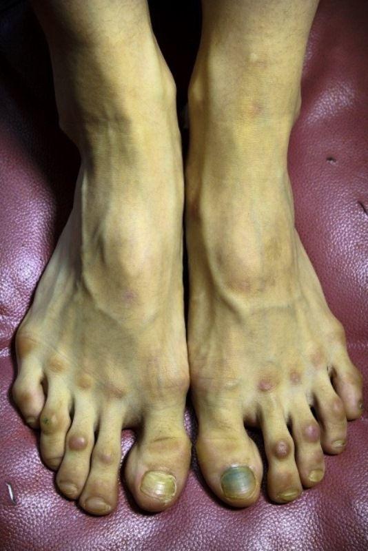 Los pies una bailarina profesional del Ballet (1)