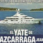El yate de Azcárraga Jean