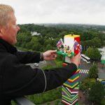 La torre más alta de LEGO, 32 m