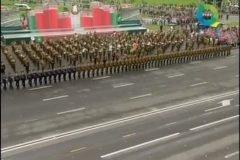 Soldados efecto dominó