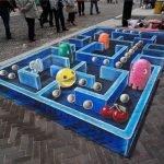 Pinturas callejeras en 3D
