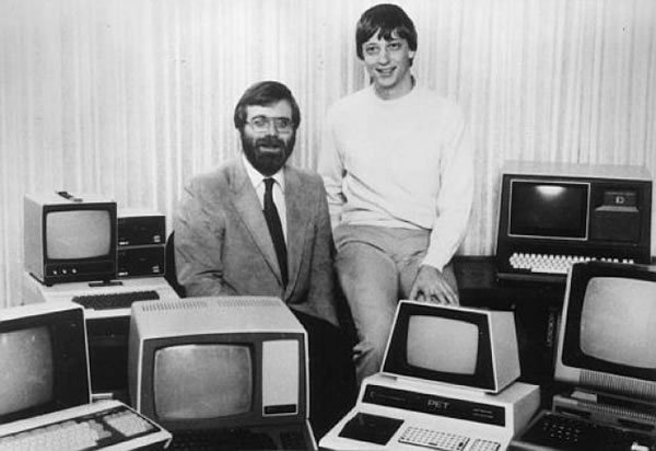 Paul Allen y Bill Gates