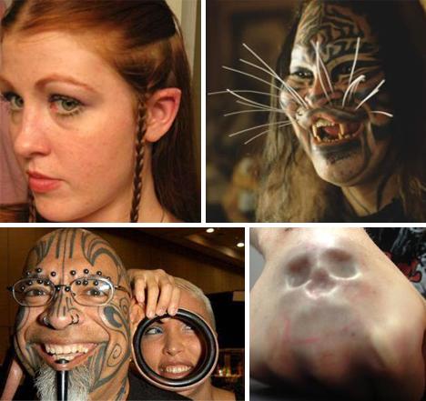 Piercing y modificaciones corporales