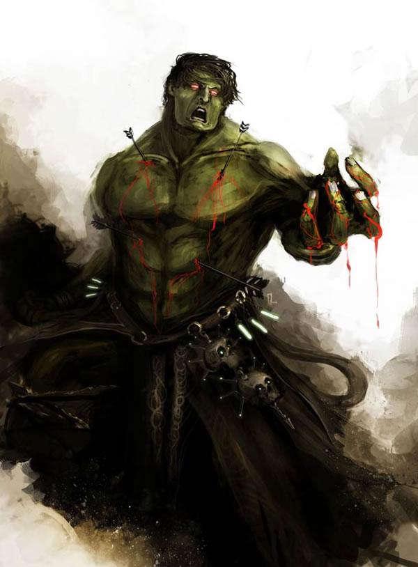 The Avengers Ilustracion Edad Media (1)