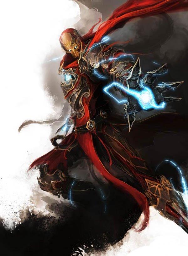 The Avengers Ilustracion Edad Media (9)