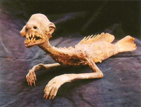 momia de sirena