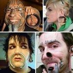 Piercing y modificaciones corporales: Casos extremos