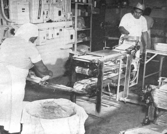 Máquina tortilladora