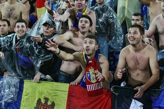 Moldavia fans futbol