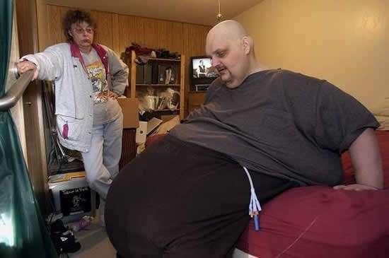 Patrick D. Deuel hombre gordo