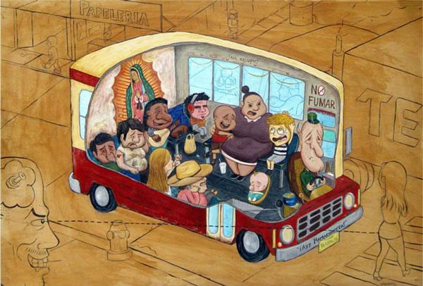 folclore mexicano Raudiel pinturas (4)