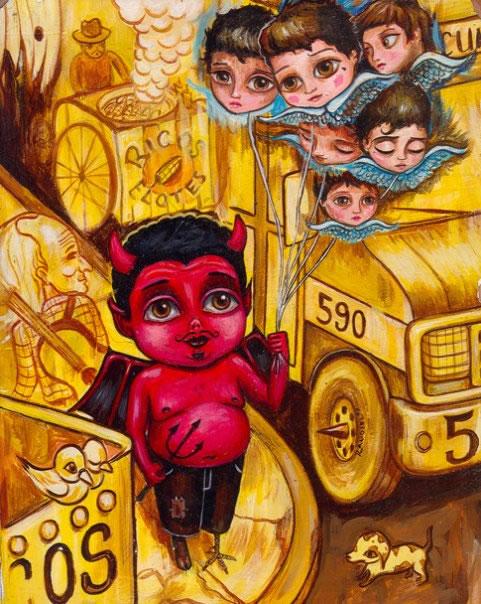 folclore mexicano Raudiel pinturas (14)