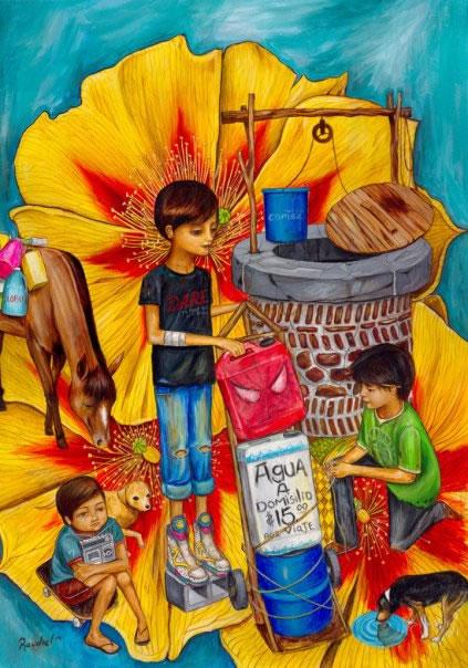 folclore mexicano Raudiel pinturas (12)