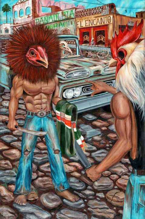 folclore mexicano Raudiel pinturas (18)