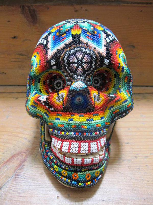 Craneos Huicholes por Our Exquisite Corpse (17)