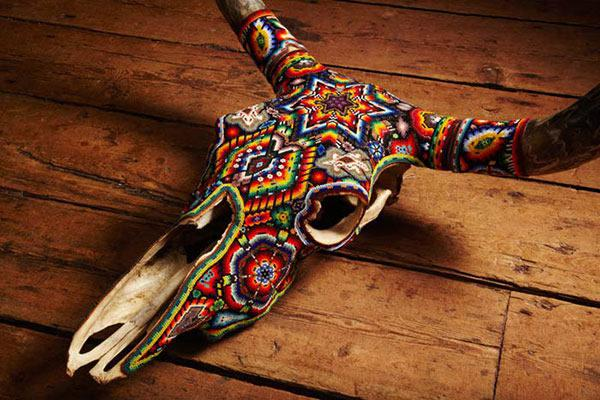 Craneos Huicholes por Our Exquisite Corpse (8)