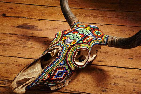 Craneos Huicholes por Our Exquisite Corpse (7)