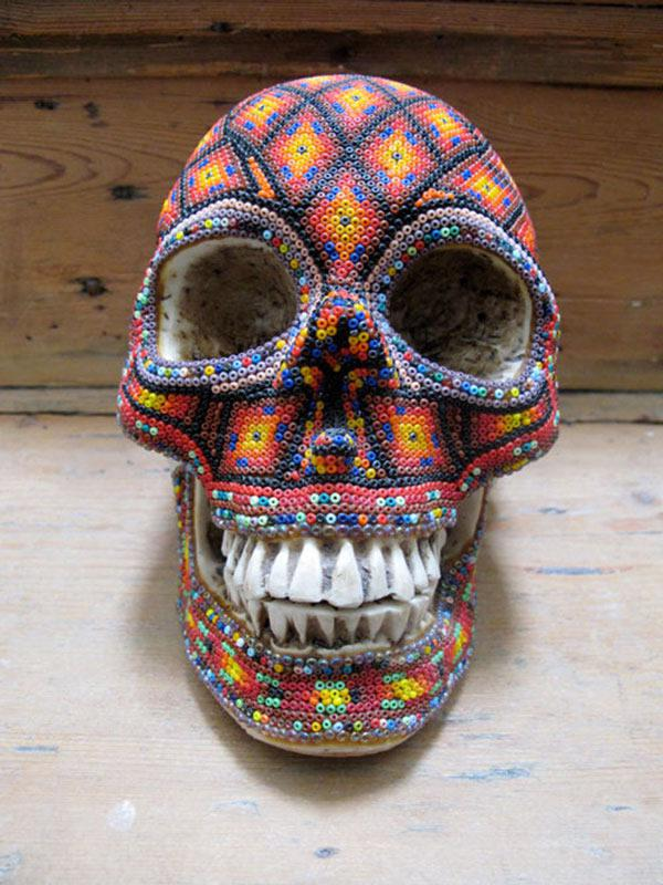 Craneos Huicholes por Our Exquisite Corpse (4)