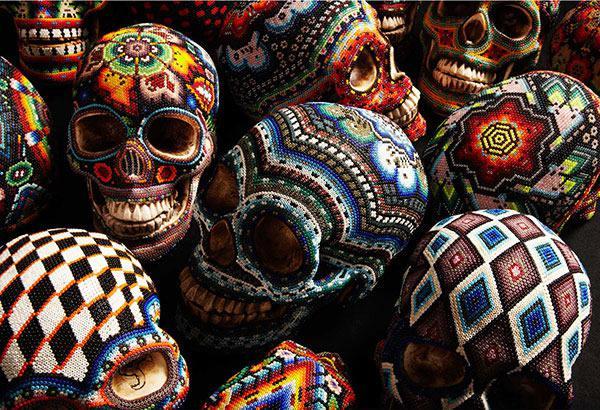 Craneos Huicholes por Our Exquisite Corpse (3)