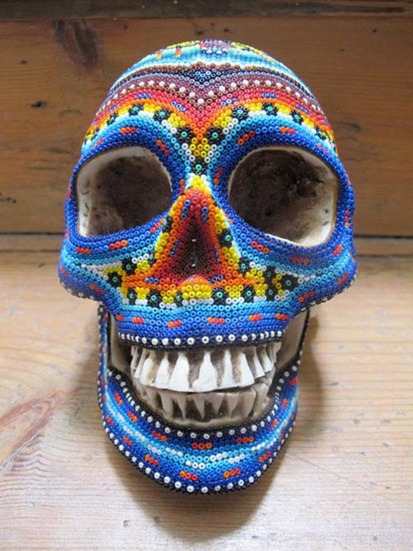 Craneos Huicholes por Our Exquisite Corpse (2)