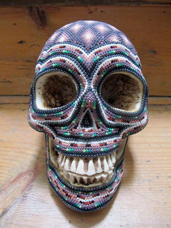 Craneos Huicholes por Our Exquisite Corpse (1)