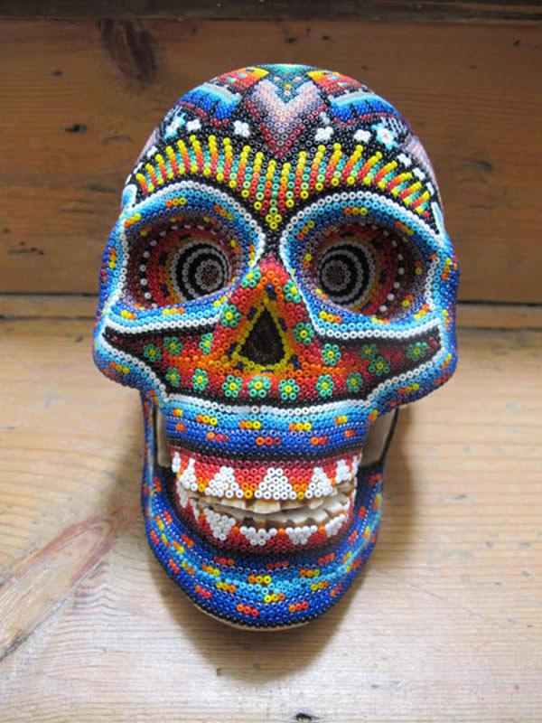 Craneos Huicholes por Our Exquisite Corpse (14)