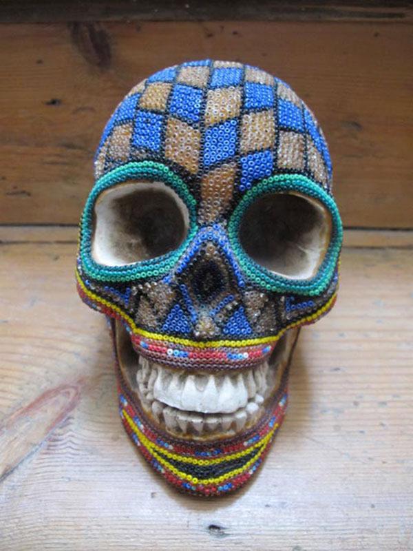 Craneos Huicholes por Our Exquisite Corpse (13)