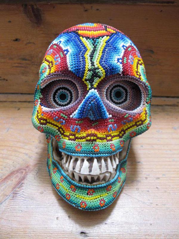 Craneos Huicholes por Our Exquisite Corpse (11)