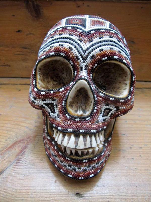 Craneos Huicholes por Our Exquisite Corpse (10)