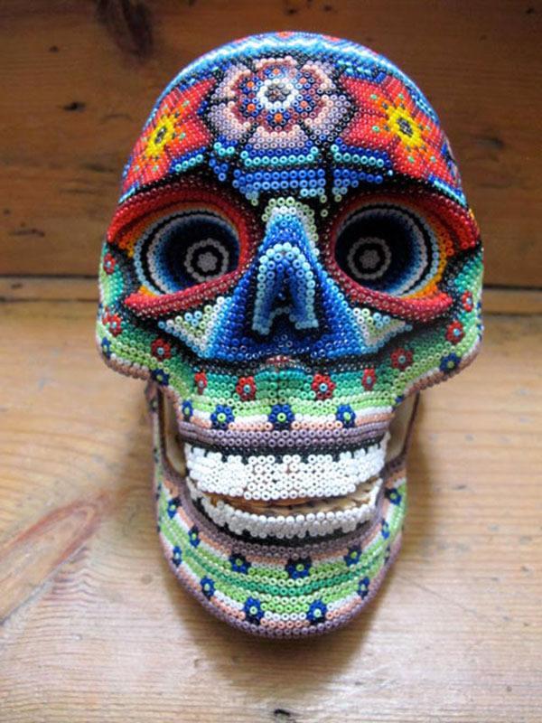 Craneos Huicholes por Our Exquisite Corpse (9)