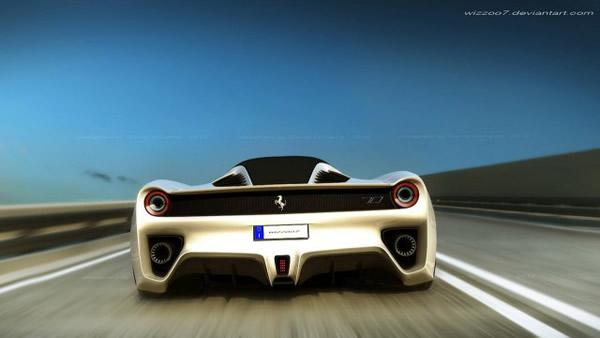 Ferrari F70 Concept por David Williams (4)