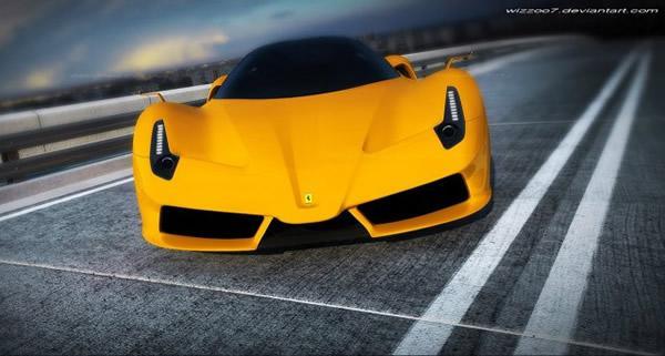 Ferrari F70 Concept por David Williams (3)