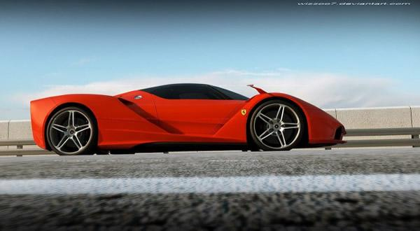 Ferrari F70 Concept por David Williams (2)