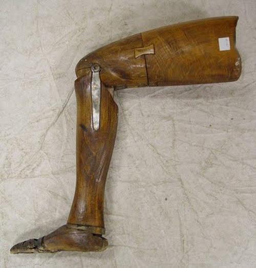 protesis madera