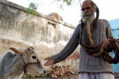 Kailash Singh el hombre que no se baña