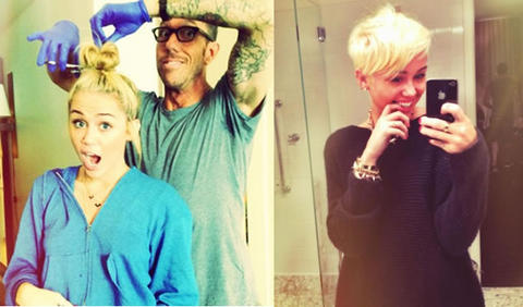 Miley Cyrus new loook
