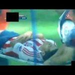 Accidente en el Chivas vs Monarcas de Jesus El Chapo Sanchez