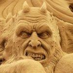 Esculturas de arena hermosas