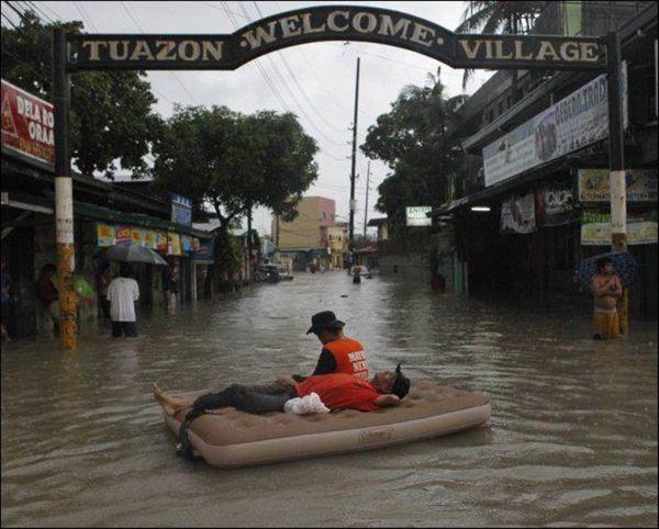 Filipina Lluvia Inundaciones (7)