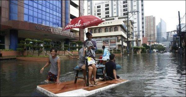 Filipina Lluvia Inundaciones (10)